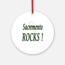 Sacremento Rocks ! Ornament (Round)