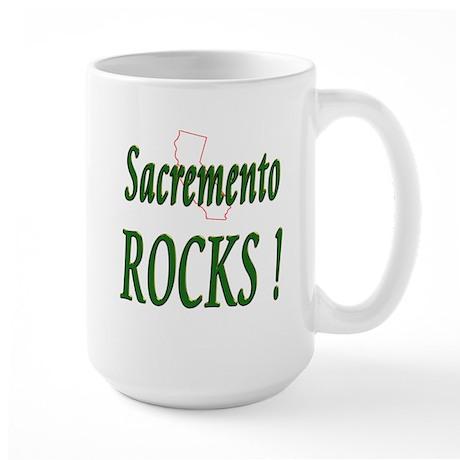 Sacremento Rocks ! Large Mug