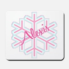 Snowflake Alexis Personalized Mousepad