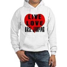 Live Love Base Jumping Hoodie