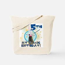 5th Magic Birthday Tote Bag