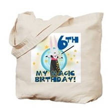 6th Magic Birthday Tote Bag