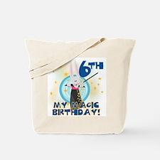 6th Magic Birthday Tote Bag