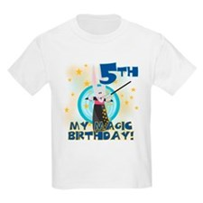 5th Magic Birthday Kids T-Shirt
