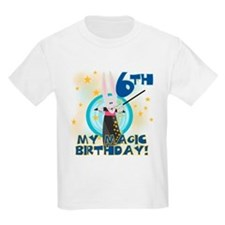6th Magic Birthday Kids T-Shirt