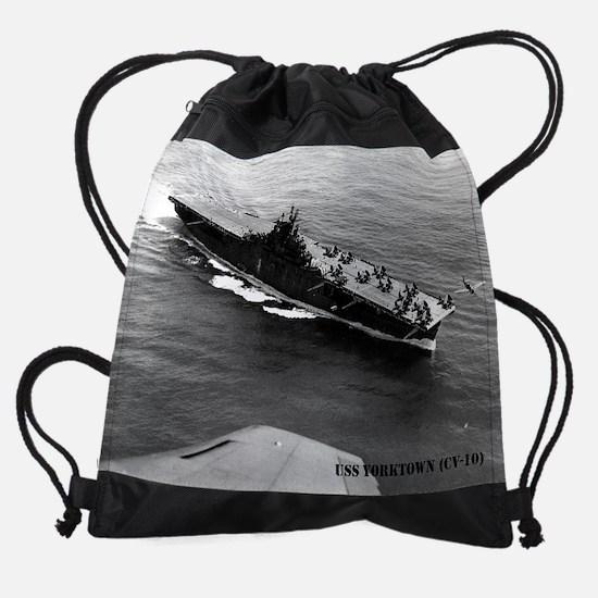 yorktown cv calendar.jpg Drawstring Bag