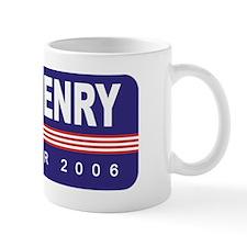 Support Brad Henry Small Mug