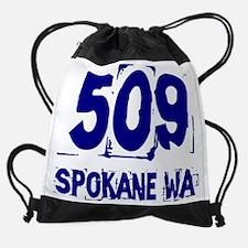509_spokane_white.png Drawstring Bag