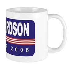 Support Bill Richardson Small Mug