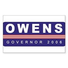 Support Bill Owens Rectangle Decal