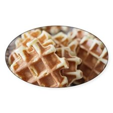Baked waffle Decal