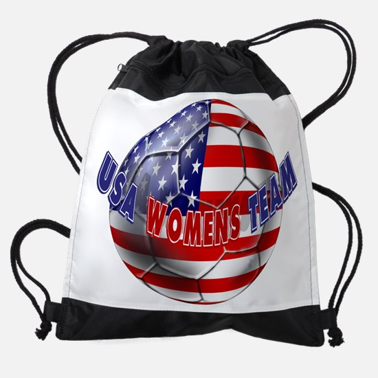 US Womens Soccer Drawstring Bag
