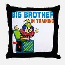 Big Brother in Training Throw Pillow
