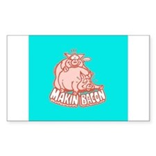 Makin Bacon Pig Decal