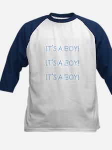 Blue It's a Boy Kids Baseball Jersey