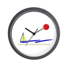 Surfers Point Wall Clock