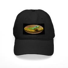 Green Mamba Snake Baseball Hat