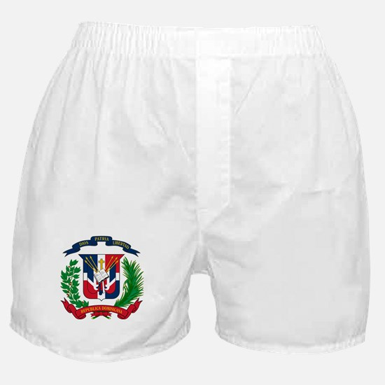 Coat of arms Dominican Republic - Esc Boxer Shorts