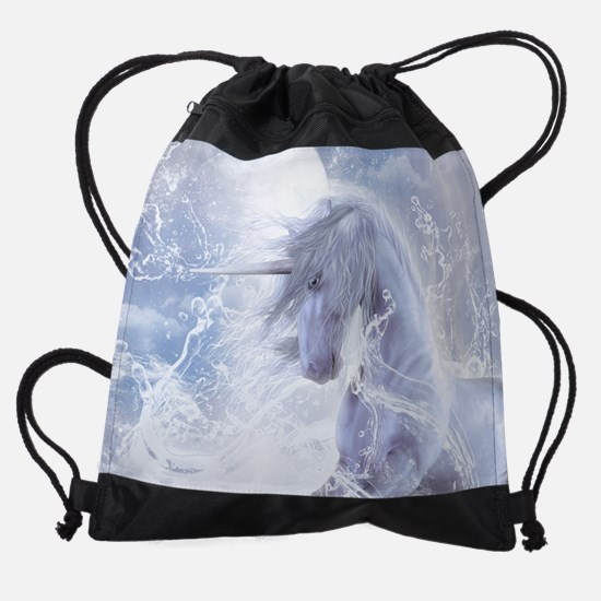 A Dream Of Unicorn Drawstring Bag