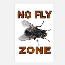 NO FLY ZONE Postcards (Package of 8)