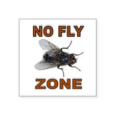 NO FLY ZONE Sticker