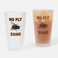 NO FLY ZONE Drinking Glass
