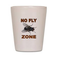 NO FLY ZONE Shot Glass