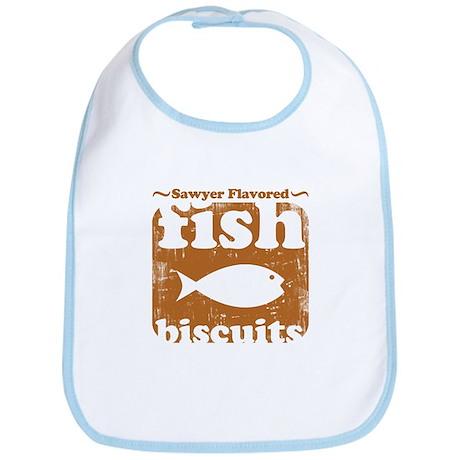 fish biscuits Bib