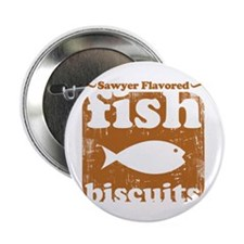 """fish biscuits 2.25"""" Button (10 pack)"""