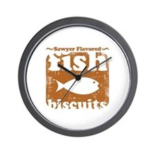 fish biscuits Wall Clock