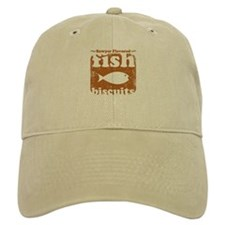fish biscuits Baseball Cap