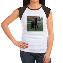 Baron Heads up Women's Cap Sleeve T-Shirt