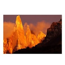 Alpenglow Cerro Torre, Pa Postcards (Package of 8)