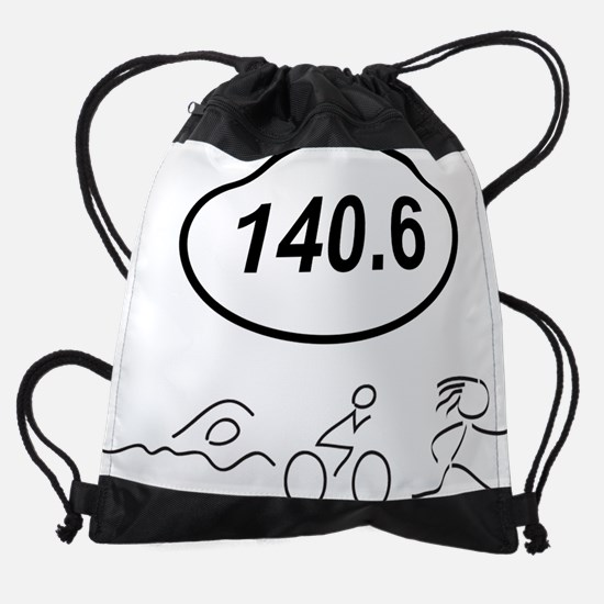 140 Oval w figures 1.png Drawstring Bag