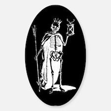 Dark Death Oval Decal