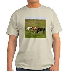 GRAZING Ash Grey T-Shirt