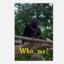 who me Postcards (Package of 8)