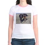 Paints and Pintos Jr. Ringer T-Shirt