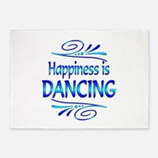Happiness is Dancing 5'x7'Area Rug