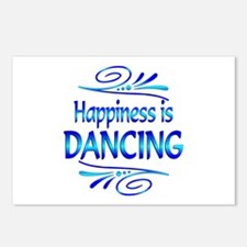 Happiness is Dancing Postcards (Package of 8)