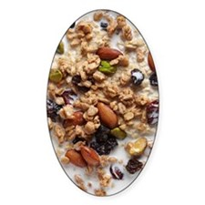 Oatmeal With Topping Decal