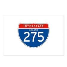 Interstate 275 - IN Postcards (Package of 8)