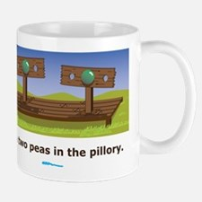 in the pillory Mug