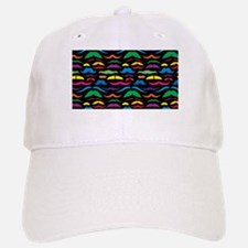 Mustache Color Pattern Black Baseball Baseball Baseball Cap