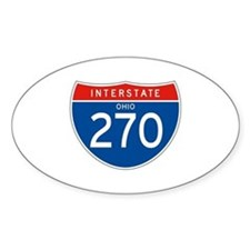 Interstate 270 - OH Oval Decal