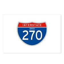 Interstate 270 - OH Postcards (Package of 8)