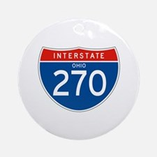 Interstate 270 - OH Ornament (Round)