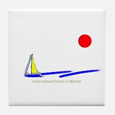 Summerland Tile Coaster