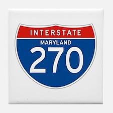 Interstate 270 - MD Tile Coaster