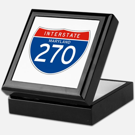 Interstate 270 - MD Keepsake Box